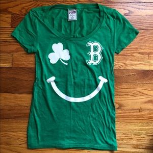 PINK St. Patrick's Day Red Sox T-shirt